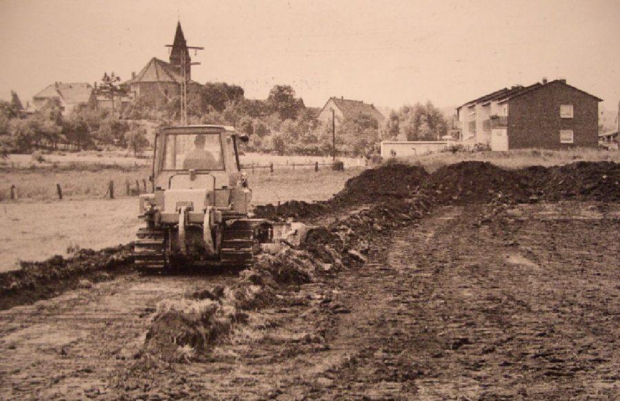 Bau neue Gemeindehalle