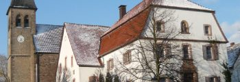 Bau Pfarrhaus und Zehntscheune