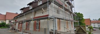 Renovierung Pfarrheim